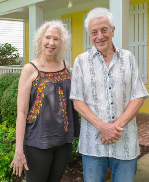 Patti Joy and Doug MacLeod love their new home on Mud Island.