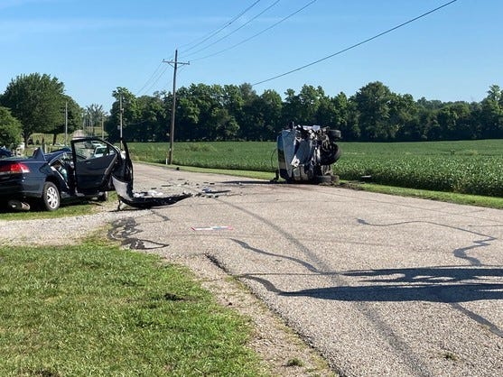 A Wayne County man was fatally injured Wednesday in a head-on crash in Henry County.
