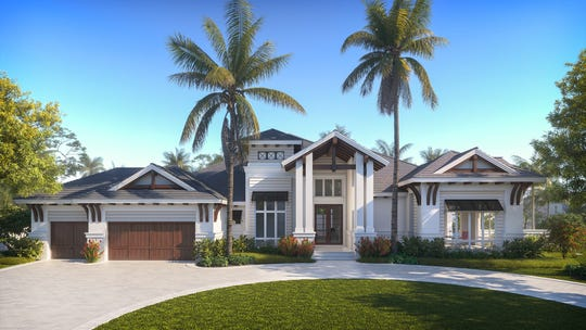 Borelli Construction has broken ground on its newest luxury home at 3700 Parkview Way in Park Shore.