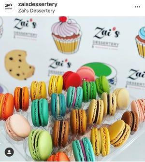 Zai's Dessertery macarons