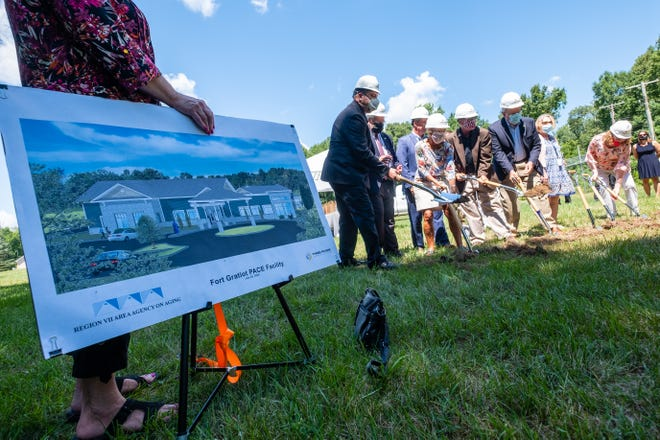 A groundbreaking ceremony was held Tuesday, July 28, 2020, for a new Sunrise Program for All-Inclusive Care to the Elderly (PACE) facility.
