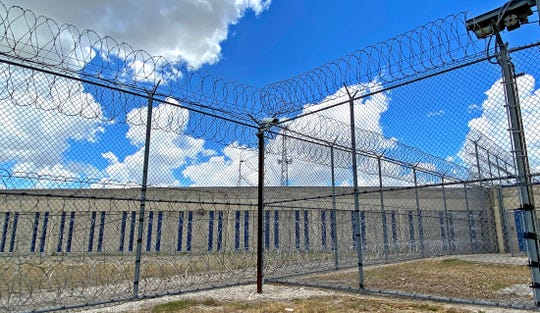 Authorities at the Val Verde County Jail, seen in this Wednesday, July 22, 2020 photo, said there have been no cases of COVID-19 in either staff or inmates.