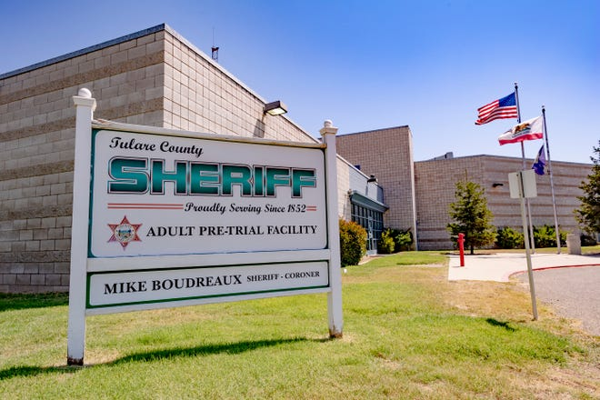 Tulare County Adult Pre-Trial Facility has been closed since March 13 to prevent the spread of COVID-19. Photo taken  Wednesday, July 29, 2020.