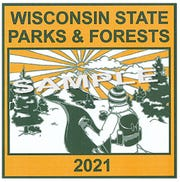The winning 2021 admission sticker was designed by Emma Džurbanová, a junior at Rice Lake High School. The winning design will be printed on state park and forest annual vehicle admission stickers.