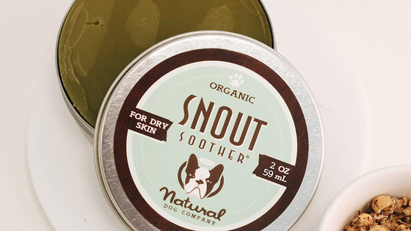 This organic solution can keep snouts happy and moisturized.