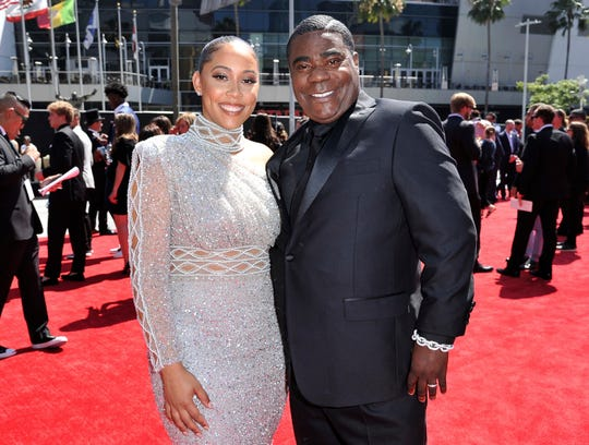 Tracy Morgan and Megan Wollover are filing for divorce.  They married in 2015, a year after Morgan was critically injured in a highway crash.
