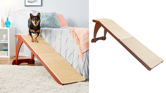 Is your pup having trouble getting into bed? This ramp could be the answer.