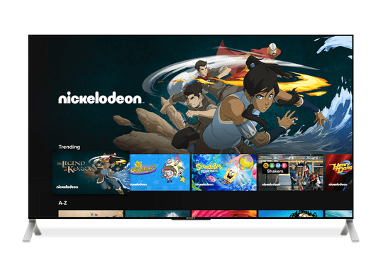 Nickelodeon was added to the CBS All-Access lineup