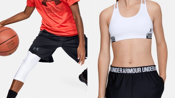 Shop and save on Under Armour for children during this big sale.