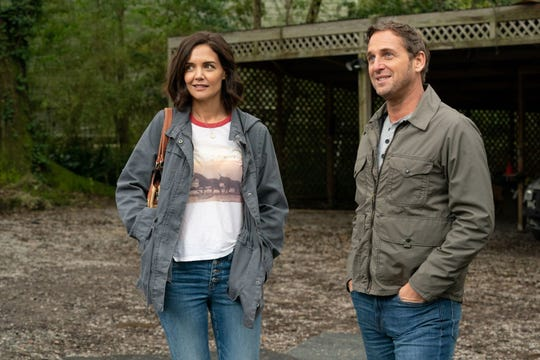 """Katie Holmes plays a financially strapped New Orleans mom who gets unexpected help from a mysterious college professor (Josh Lucas) in the drama """"The Secret: Dare to Dream."""""""