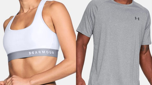 Save on sports bras, training shirts and so much more at Under Armour.