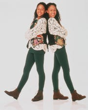 """Twins  Tamera Mowry-Housley and Tia Mowry starred in the 90s television series """"Sister, Sister."""""""