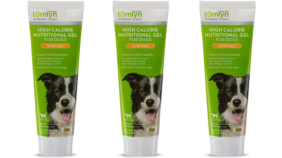 This gel can help dogs with small appetites.