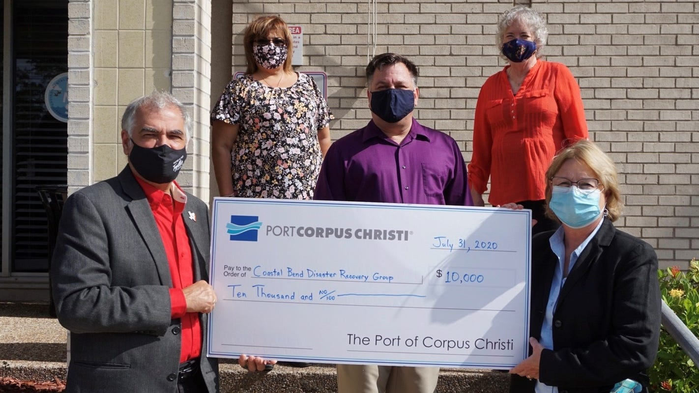 Port of Corpus Christi awards $10K in hurricane relief to disaster recovery group