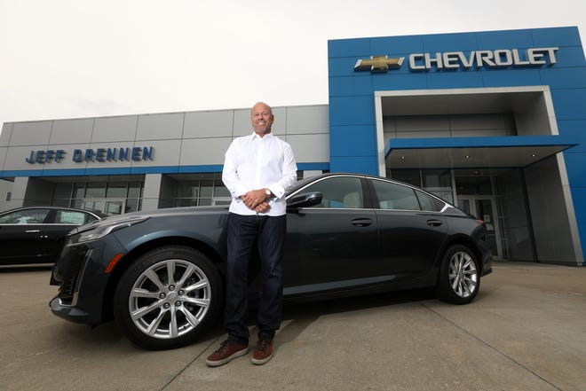 Jeff Drennen grew up around cars, and now owns car dealerships in Coshocton and Zanesville.