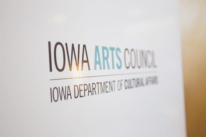 The Iowa Arts Council signage