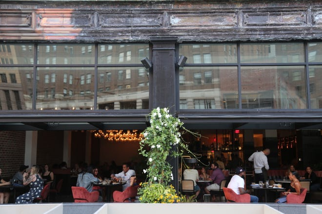 Leila, a lauded Lebanese restaurant in Detroit's Capitol Park, reopened for dinner service Wednesday, July 29, after being shut down for more than four months due to COVID-19.