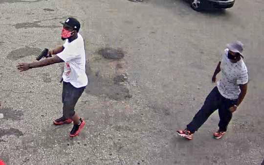 Both suspects were seen on camera July 8.