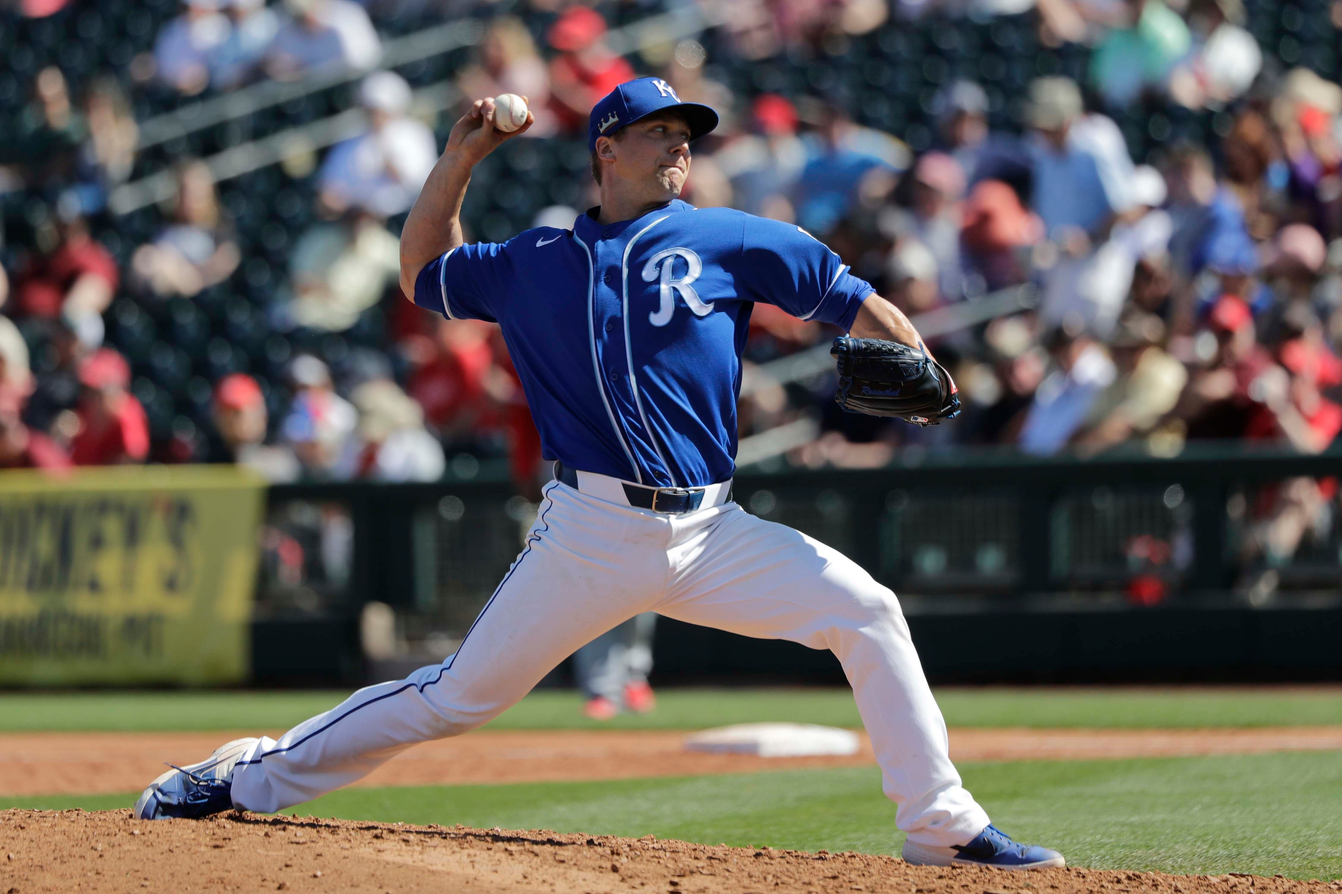 Trevor Rosenthal appears to be back on track with Kansas City Royals