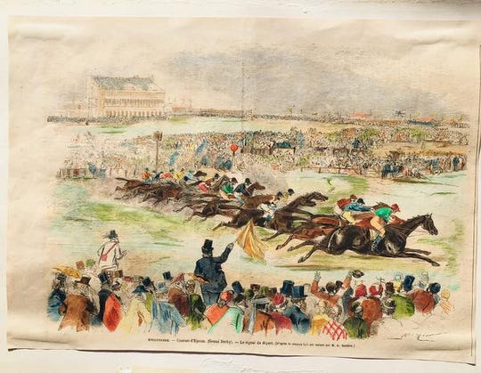 The Derby Stakes (also known as the Epsom Derby)