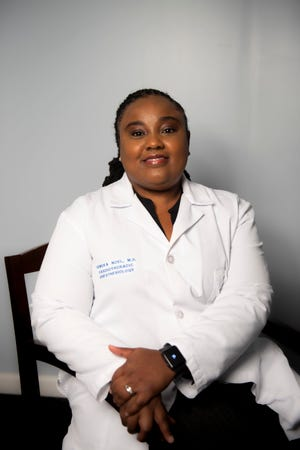 District 5, Position 1 candidate Dr. Tameka Noel