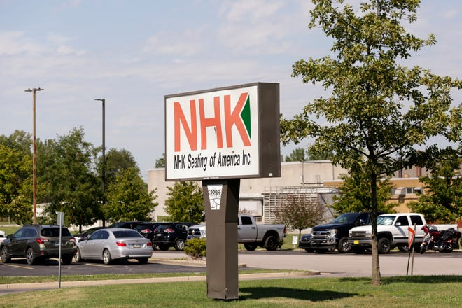 NHK Seating of America, Inc., Wednesday, July 29, 2020 in Frankfort.
