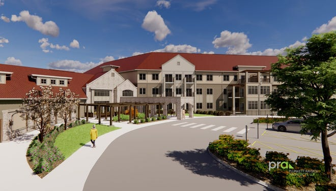 Construction is starting on a housing development at Mount Mary University that includes apartments for seniors, and for students who are also single moms.