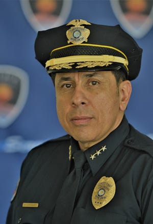 Interim Chief of Police Miguel Dominguez