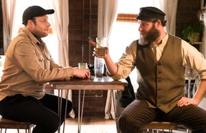 Seth Rogen and Seth Rogen in HBO Max's 'An American Pickle.'