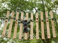 Treetop Quest in Greenville held its grand opening Thursday morning.