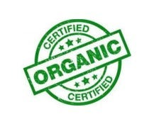 Certified organic seal