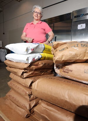 Carol Humphreys operates FoodWorks Alliance in Zanesville. The alliance helps local food producers make and package their wares.