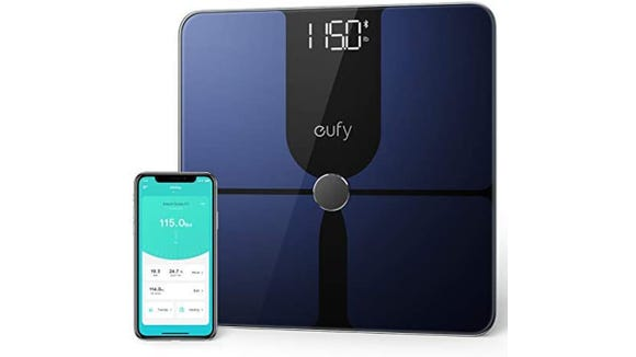 Take accurate body measurements with this eufy scale.