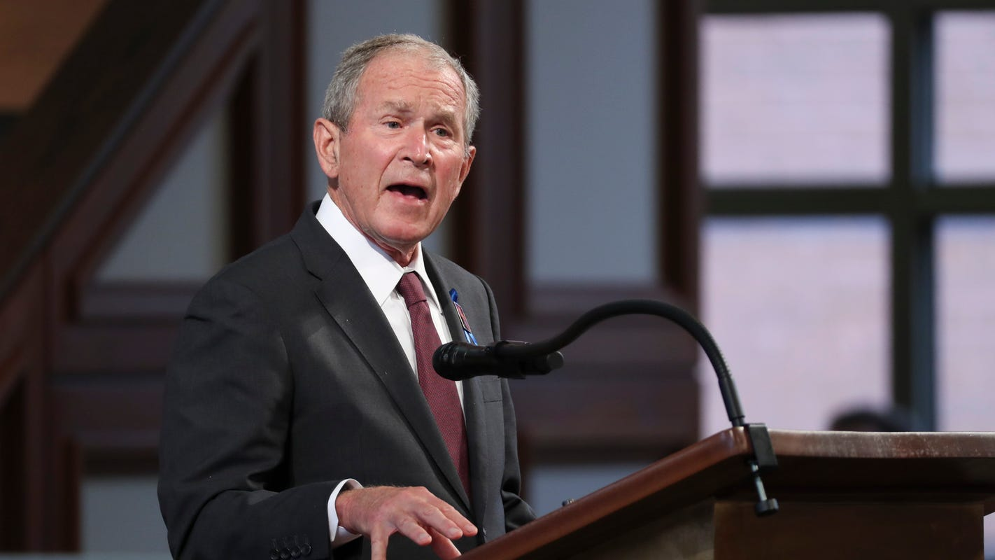George W. Bush, in op-ed, lobbies for bipartisan immigration reform