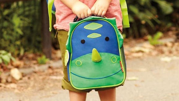 How cute is this critter-faced lunch box?