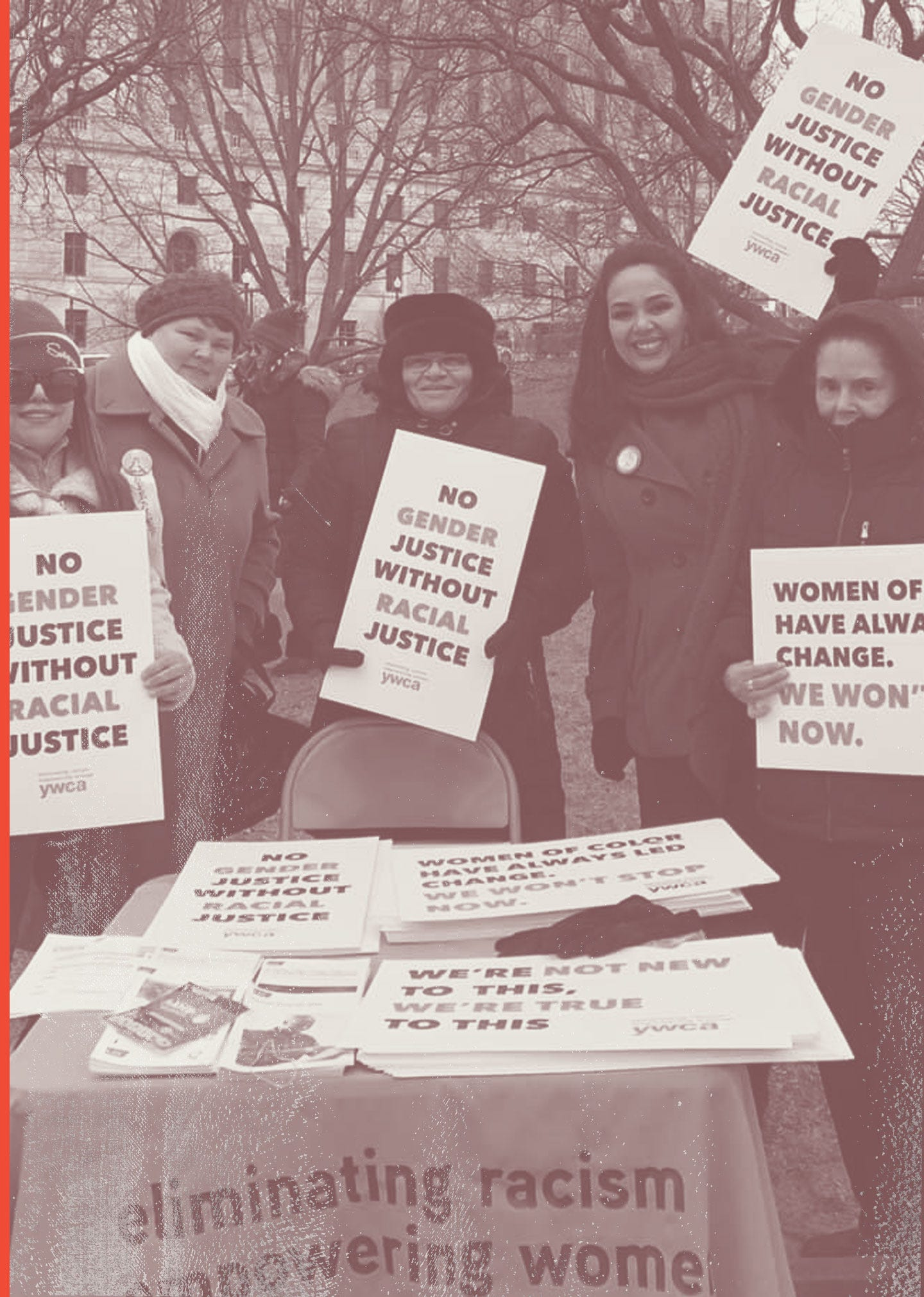 The women of YWCA Rhode Island