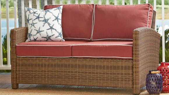 Catch some zzz's or read on this comfy sofa.