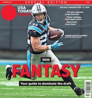 Panthers running back Christian McCaffrey is the consensus No. 1 player in fantasy football for 2020 and one of six regional cover subjects for USA TODAY's fantasy football preview.
