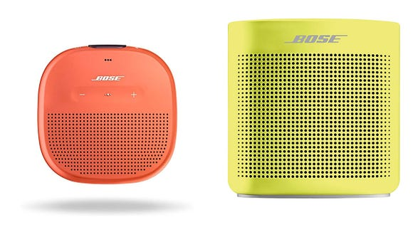 These Bose speakers come in a ton of fun, bright hues.