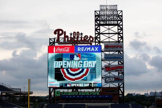 The weekend's Phillies-Blue Jays series was postponed.