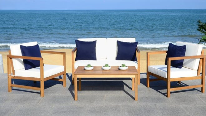 Need a new gathering place for the deck? Overstock has you covered.