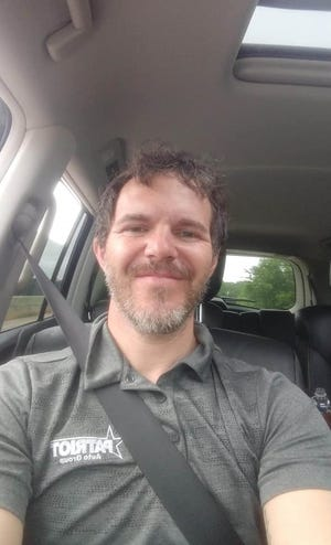 A photo of Christopher Burkhammer provided by the Ardmore Police Department