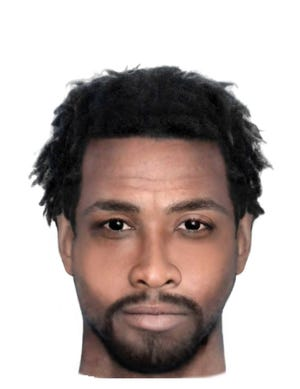 This is a composite sketch of the Belafonte Drive sexual-battery suspect being sought by police. [Jacksonville Sheriff's Office]
