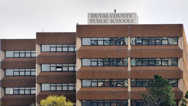 Duval County School Board building.