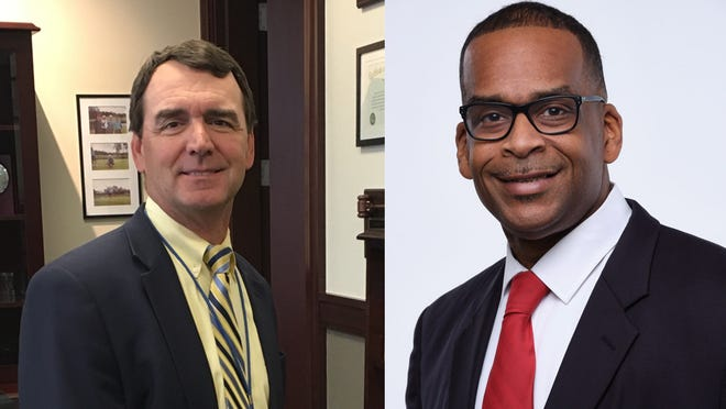 Duval County Judge Scott Mitchell and arbitrator Isaac East are facing off for county judge.