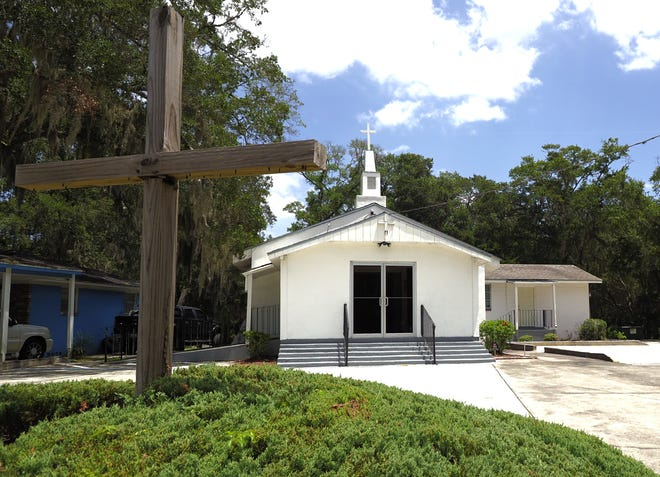 The Alexander Memorial United Methodist Church off Fort Caroline Road in Jacksonville is one of the few remnants of Cosmo, a community established in the late 1870s that founded the Gullah Geechee settlement for African-Americans after the Civil War. The area has just been named to the Florida Trust for Historic Preservation's 11 to Save list for 2020. [Emily Felts/Florida Times-Union]