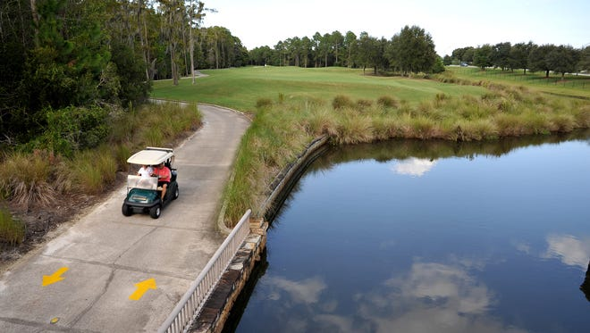 The North Florida Junior Foundation held its most recent event at the World Golf Hall of Fame Slammer & Squire course.