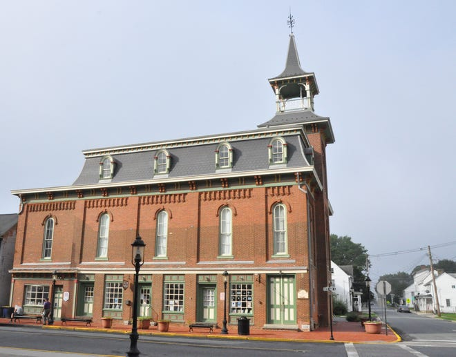 The Smyrna Opera House on the corner of Main and South streets.