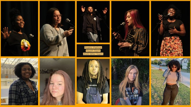 The Poetic Pathos poetry slam group was a finalist in an international competition last month.