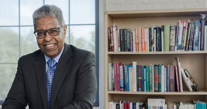 """William Darity Jr., an economics professor at Duke University, and his wife, A. Kirsten Mullen, a writer, folklorist, and museum consultant, are co-authors of """"From Here to Equality: Reparations for Black Americans in the Twenty-First Century."""""""